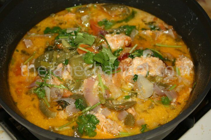 Brazilian Style – Salmon Fish Stew | thejanechannel