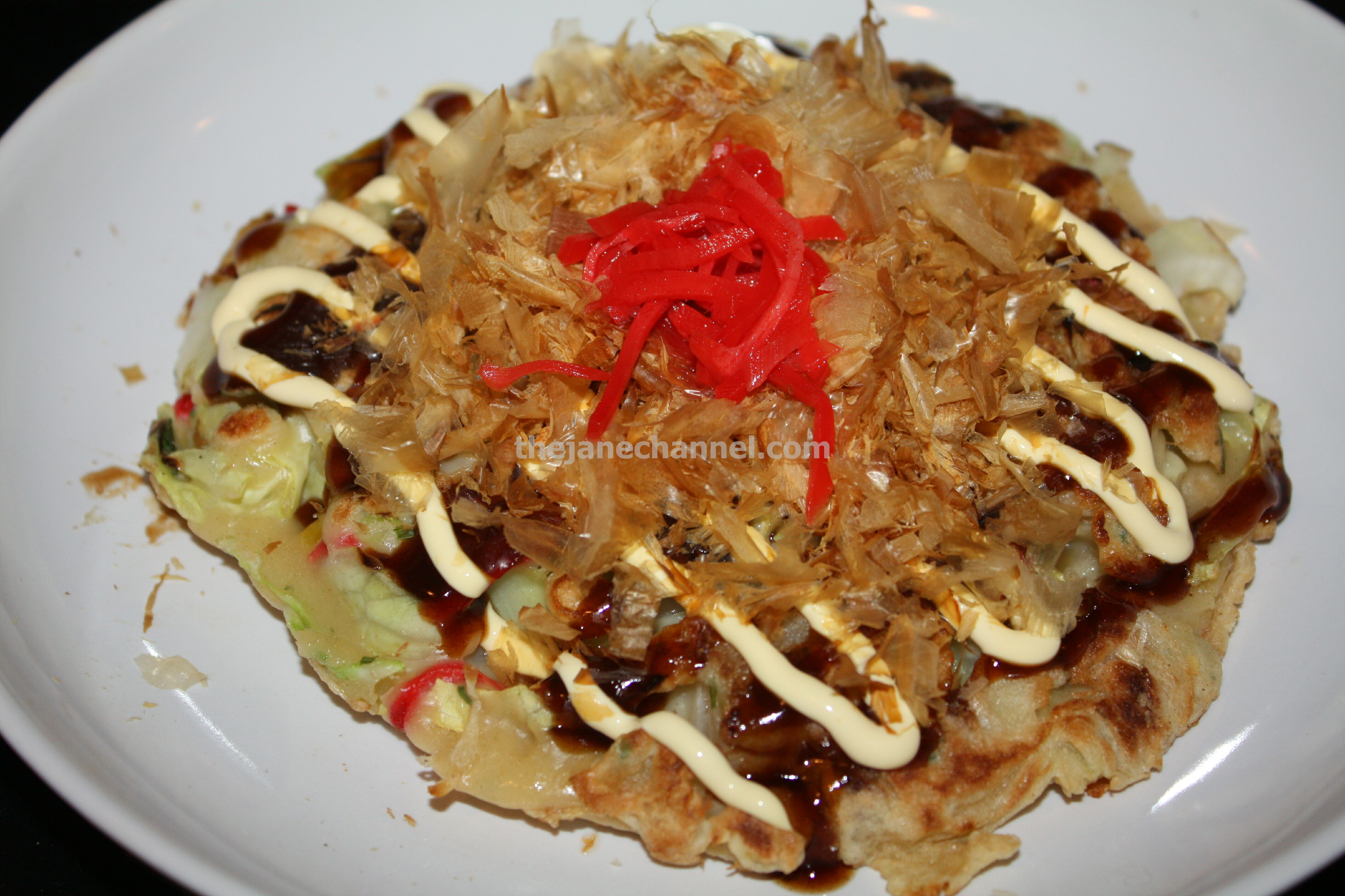 Okonomiyaki – Japanese Pancake