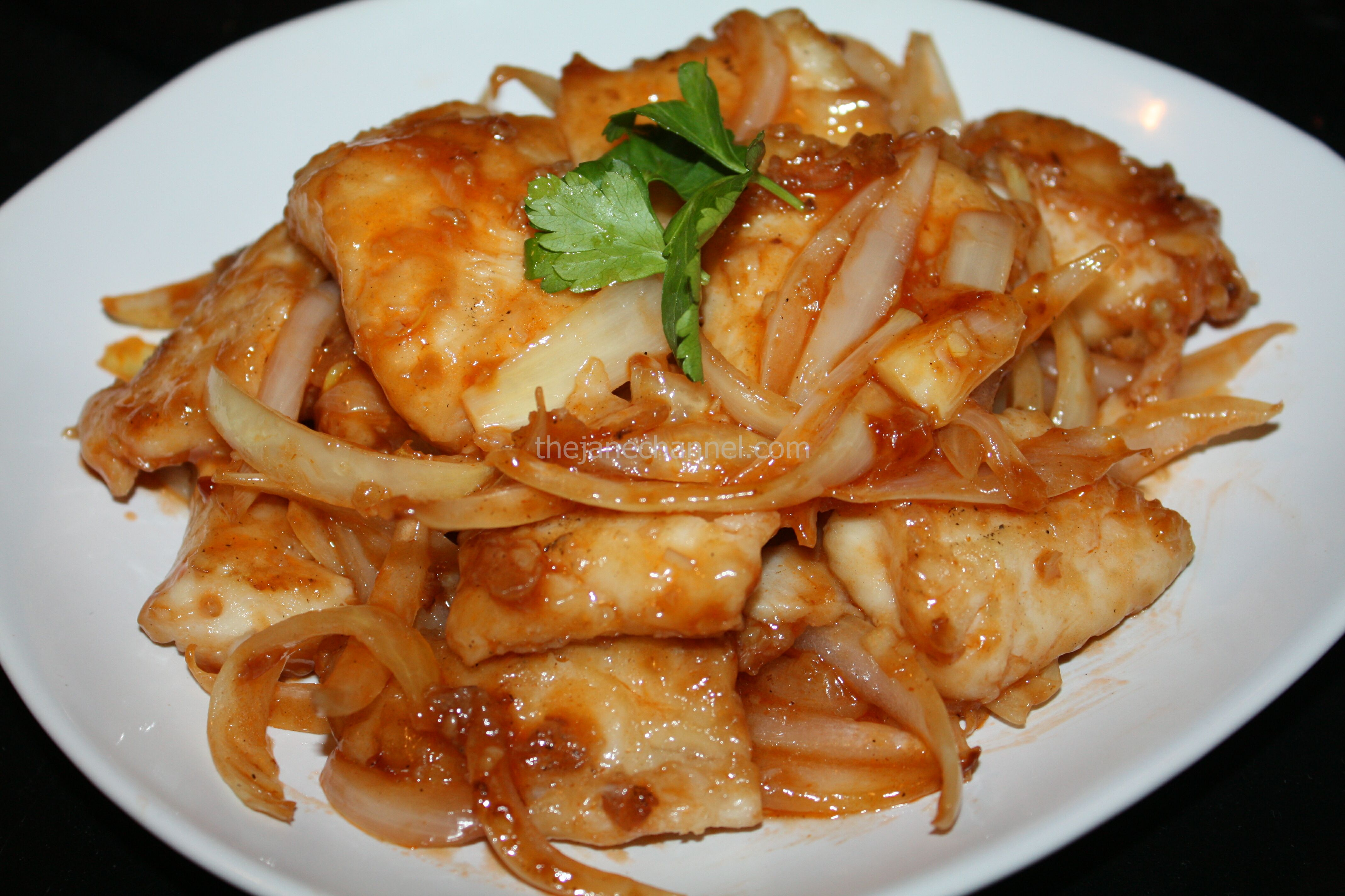 Chinese food recipe thejanechannel sweet and sour fish fillet forumfinder Choice Image