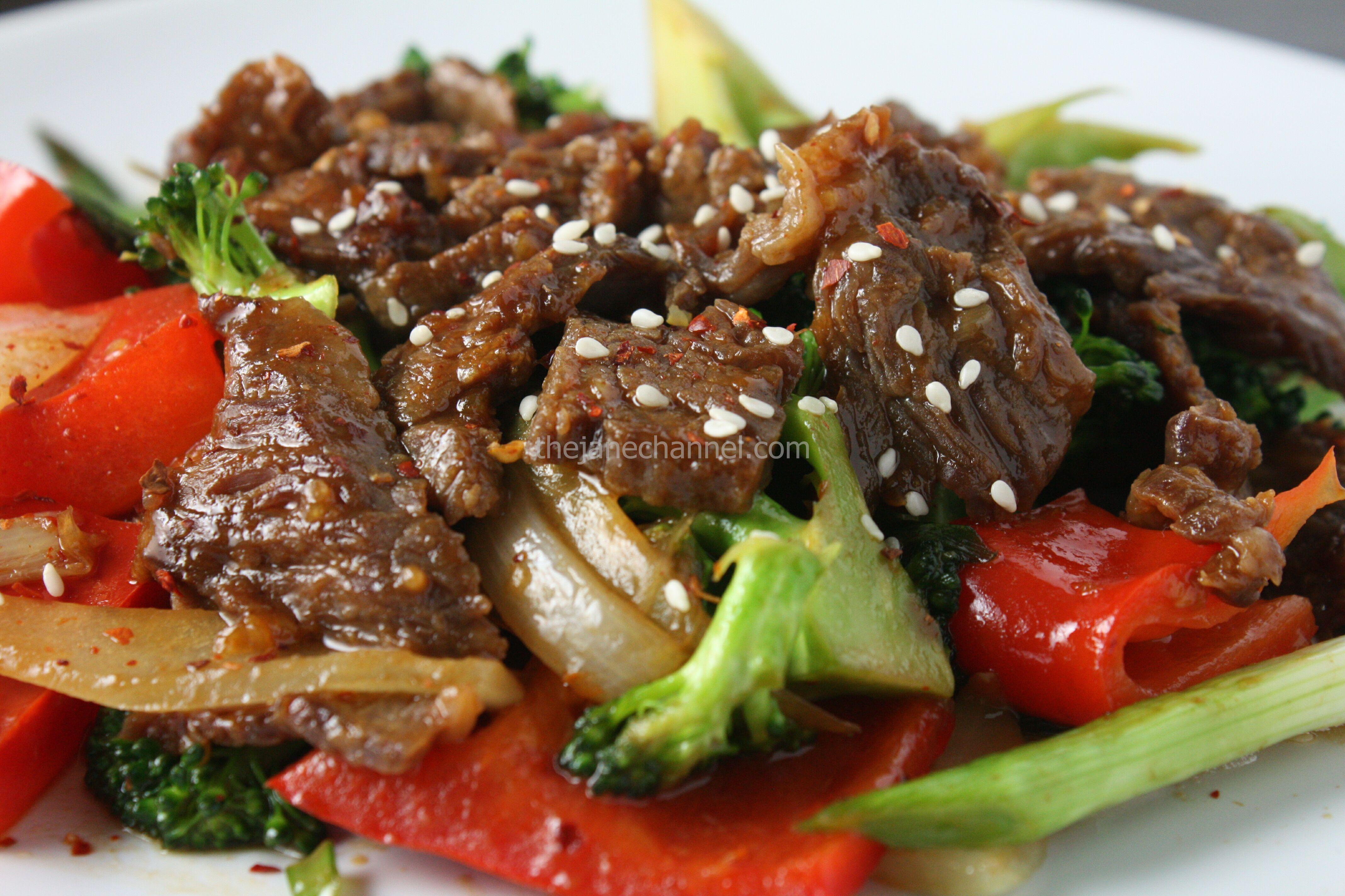 Mongolian Beef Recipes — Dishmaps