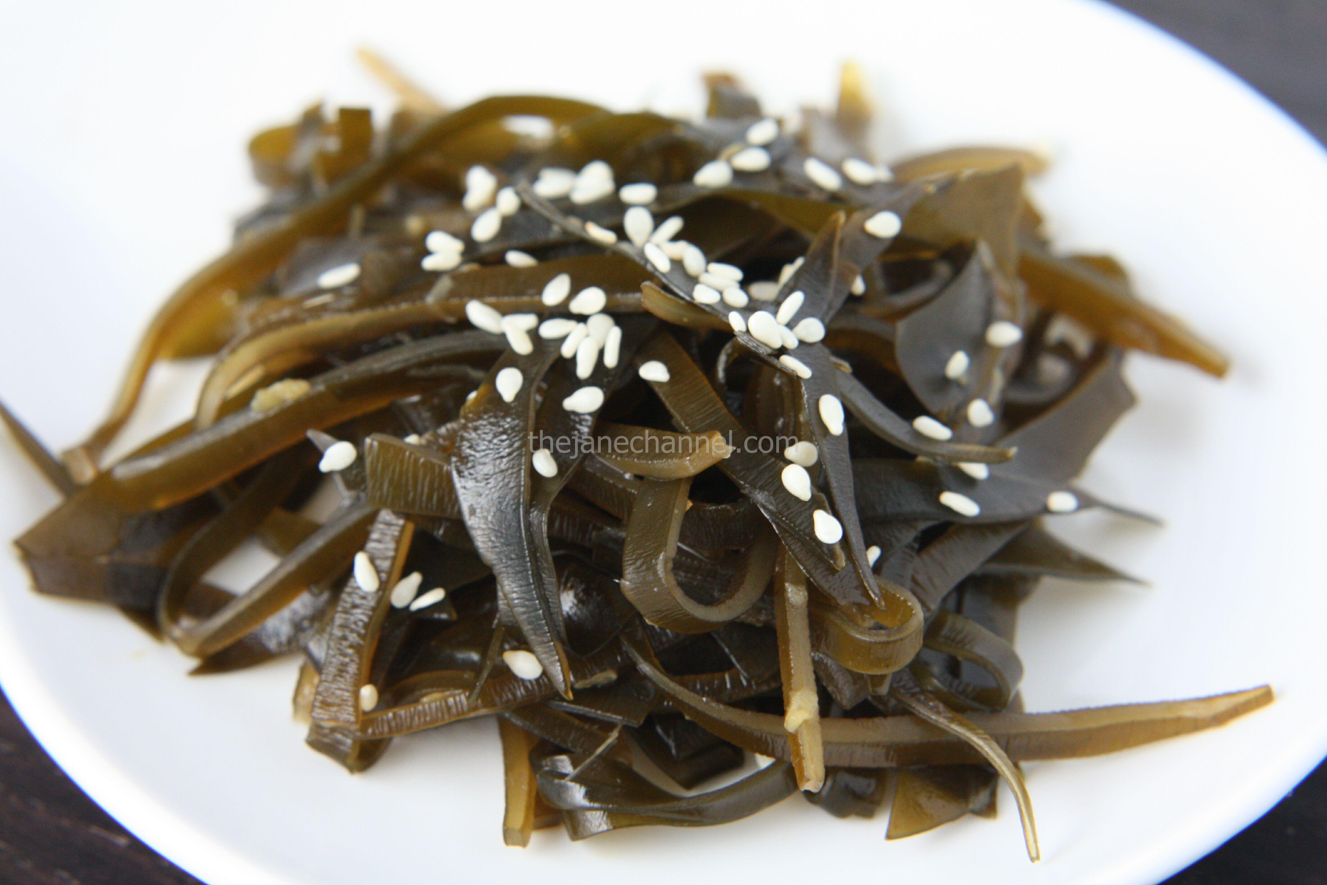 Kombu Seaweed Salad (Tsukudani) | thejanechannel