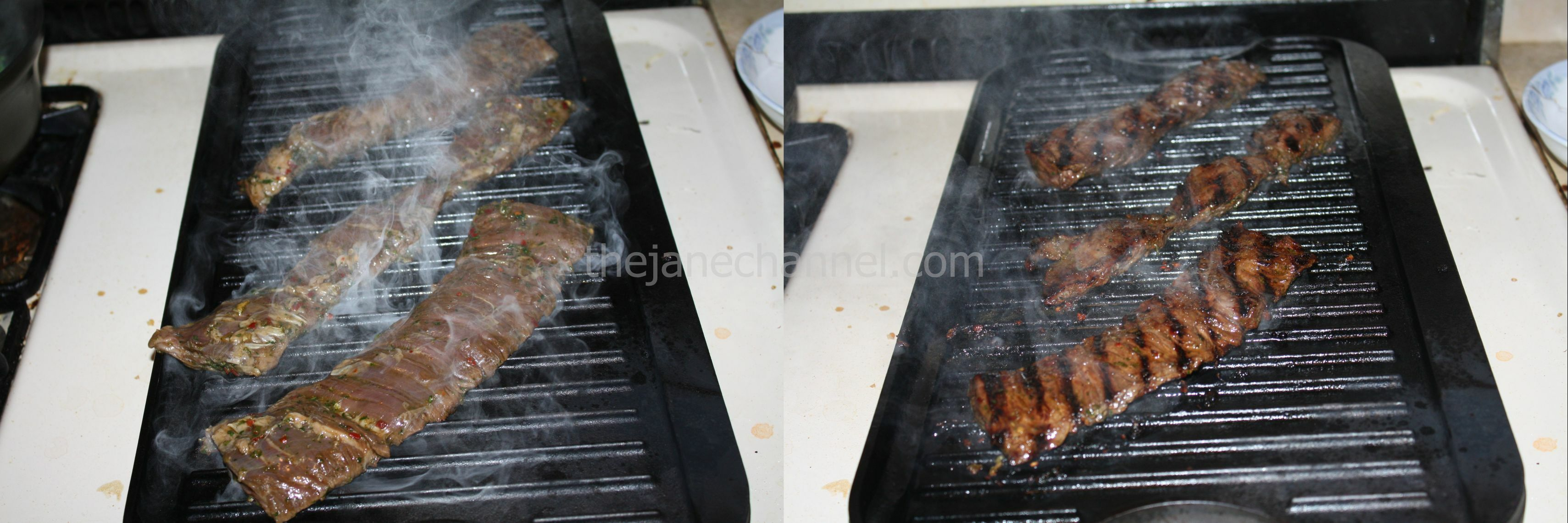 how to cook skirt steak on grill