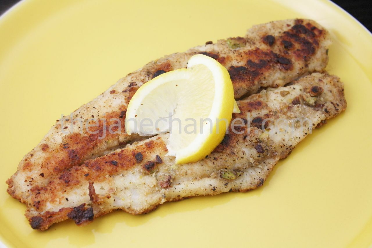 how to cook fish fillet with bread crumbs