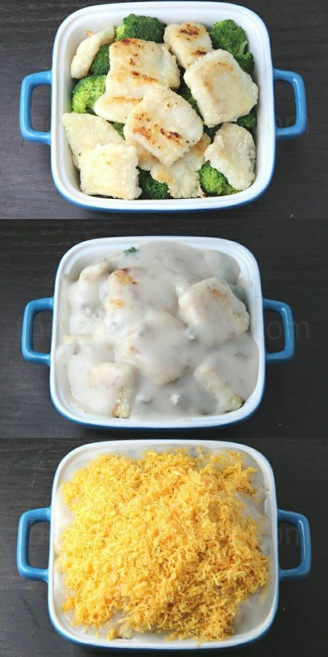Creamy Baked Fish Fillet With Broccoli Thejanechannel