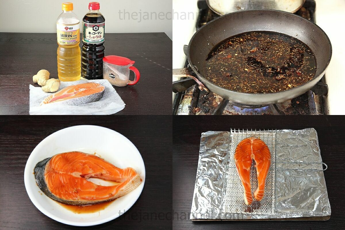 how to cook salmon japanese style